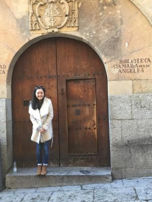 Rebekah - University of Salamanca