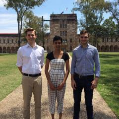 Three UQ students are China-bound on scholarships